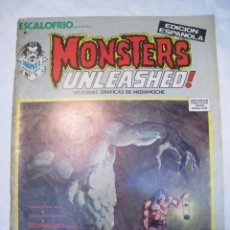 Cómics: ESCALOFRIO 6: MONSTERS UNLEASHED N. 2 - VERTICE - ORIGINAL. Lote 80591738