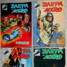 Cómics: ZARPA DE ACERO LOTE 4 COMICS DE LOS 6 QUE FORMAN LA COLECCION VERTICE MUNDICOMICS. Lote 80598934