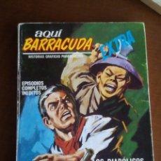 Cómics: AQUI BARRACUDA N-11 COMPLETO. Lote 80725846