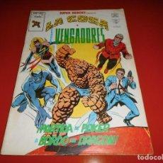 Cómics: SUPER HEROES - LA COSA Y LOS VENGADORES VOL. 2 Nº 117 MUNDI COMICS - VERTICE. Lote 80767394