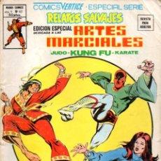 Cómics: RELATOS SALVAJES MUNDI COMICS Nº 47 : ARTES MARCIALES (1979). Lote 80842679