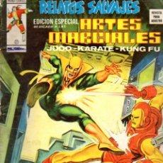 Cómics: RELATOS SALVAJES MUNDI COMICS Nº 21 : ARTES MARCIALES (1976). Lote 80842815