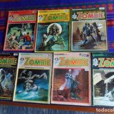 Cómics: VÉRTICE ESCALOFRÍO NºS 2, 5, 8, 14, 21, 25 Y 33 TALES OF THE MOVIES 1, 2, 3, 4, 6, 8 Y 10. 1973.. Lote 80966796