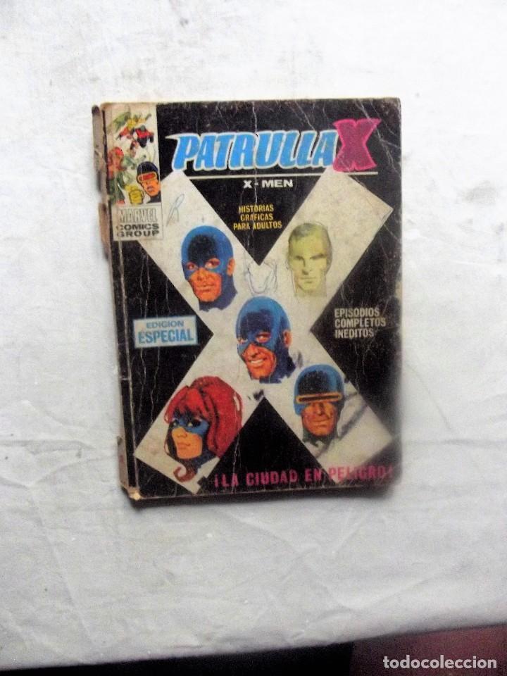 PATRULLA X LA CIUDAD EN PELIGRO (Tebeos y Comics - Vértice - Patrulla X)