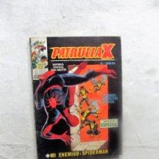 Cómics: PATRULLA X MI ENEMIGO SPIDERMAN. Lote 81196788