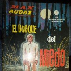 Cómics: MAX AUDAZ Nº 10.VÉRTICE GRAPA 1965.MBE.. Lote 81748700