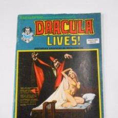 Cómics: ESCALOFRIO Nº 7. DRACULA LIVES! Nº 2. HISTORIAS GRAFICAS DE MEDIANOCHE. VERTICE 1974. TDKC22. Lote 82077724