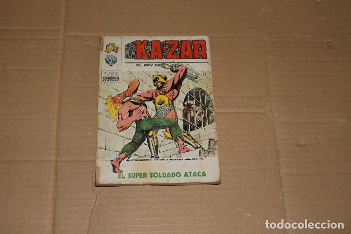 KA-ZAR Nº 7, 128 PÁGINAS, VOLUMEN 1, EDITORIAL VÉRTICE (Tebeos y Comics - Vértice - V.1)