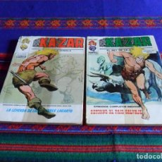 Cómics: VÉRTICE VOL. 1 KAZAR KA ZAR KA-ZAR NºS 2 Y 8. 30 PTS. 1973.. Lote 82263848