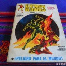 Cómics: VÉRTICE VOL. 1 EL HOMBRE DE HIERRO Nº 23. 1971. 25 PTS. PELIGRO PARA EL MUNDO. BUEN ESTADO.. Lote 82289456