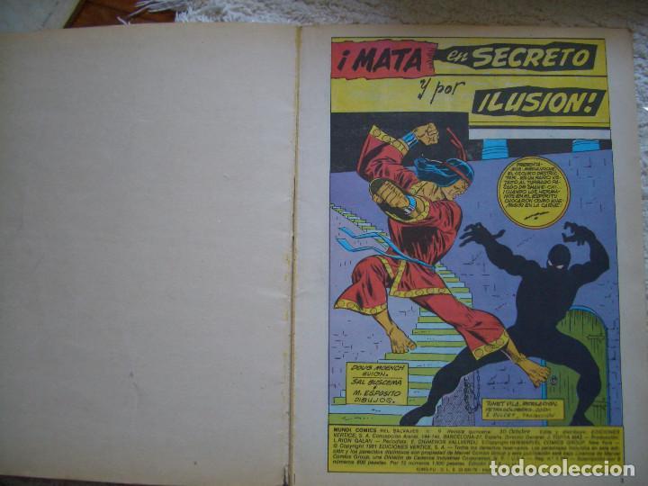 Cómics: RELATOS SALVAJES ARTES MARCIALES V.2 Nº9 (VÉRTICE, 1981) - Foto 2 - 82737696