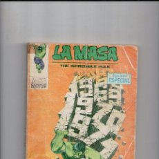 Cómics: LA MASA Nº 16 -VERTICE TACO-. Lote 82955584