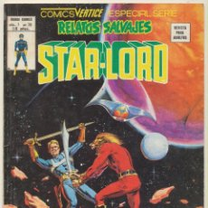 Cómics: RELATOS SALVAJES VOL. 1 Nº 70. STAR - LORD. VÉRTICE.. Lote 83050832