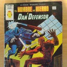 Cómics: EL HOMBRE DE HIERRO Y DAN DEFENSOR - CAZA DE HOMBRE. Lote 83067044