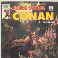Cómics: RELATOS SALVAJES VOL. 1 Nº 81. CONAN. VÉRTICE.. Lote 83111988