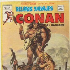 Cómics: RELATOS SALVAJES VOL. 1 Nº 83. CONAN. VÉRTICE.. Lote 83113028