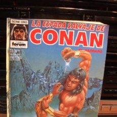 Cómics: LA ESPADA SALVAJE DE CONAN EL BARBARO Nº 99 EL CODIGO DEL LOBO SERIE ORO COMICS FORUM. Lote 83165692