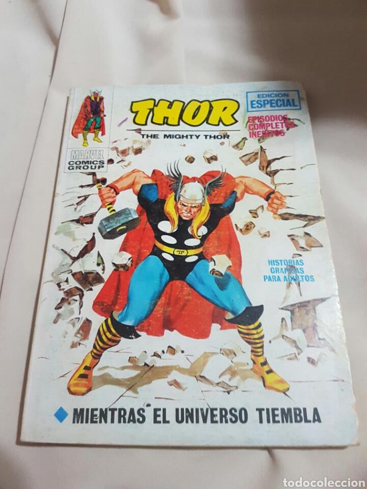 THOR. MIENTRAS EL UNIVERSO TIEMBLA. VOL. 18 (Tebeos y Comics - Vértice - Thor)