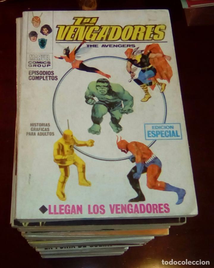 VERTICE - LOS VENGADORES - COLECCION COMPLETA 52 COMICS - VOL.1 - ENVIO GRATIS (Tebeos y Comics - Vértice - Vengadores)