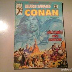 Cómics: CONAN EL BÁRBARO. RELATOS SALVAJES. HALCONES SOBRE SHEM. VOL 1. Nº 76. EDICIONES VÉRTICE 1979.. Lote 84667240
