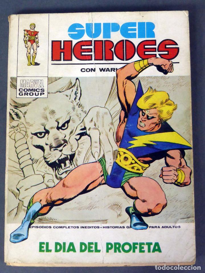 MARVEL SUPER HÉROES Nº 1 WARLOCK EL DÍA DEL PROFETA EDICIONES VÉRTICE 1973 (Tebeos y Comics - Vértice - Super Héroes)