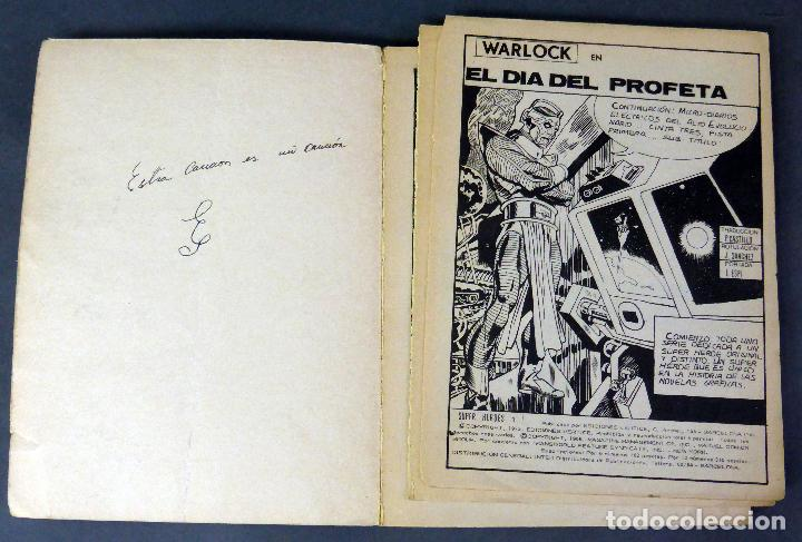 Cómics: Marvel Super Héroes nº 1 Warlock El día del Profeta Ediciones Vértice 1973 - Foto 2 - 84722796