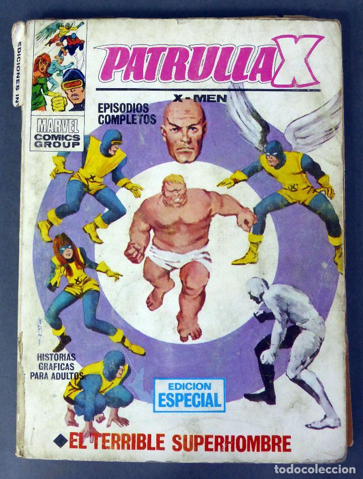 MARVEL PATRULLA X X MEN EL TERRIBLE SUPERHOMBRE Nº 3 EDICIONES VÉRTICE 1969 (Tebeos y Comics - Vértice - Patrulla X)