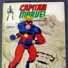 Cómics: MARVEL COMICS CAPITÁN MARVEL Nº 11 TRAICIÓN EDICIONES VÉRTICE 1969. Lote 155745177