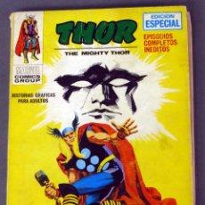 Cómics: MARVEL COMICS THOR Nº 19 LOS TALISMANES VIVIENTES EDICIONES VÉRTICE TACO 1972. Lote 84834628