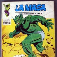 Cómics: MARVEL LA MASA THE INCREIBLE HULK Nº 28 LA ABOMINACIÓN EDICIONES VÉRTICE 1972. Lote 84838508