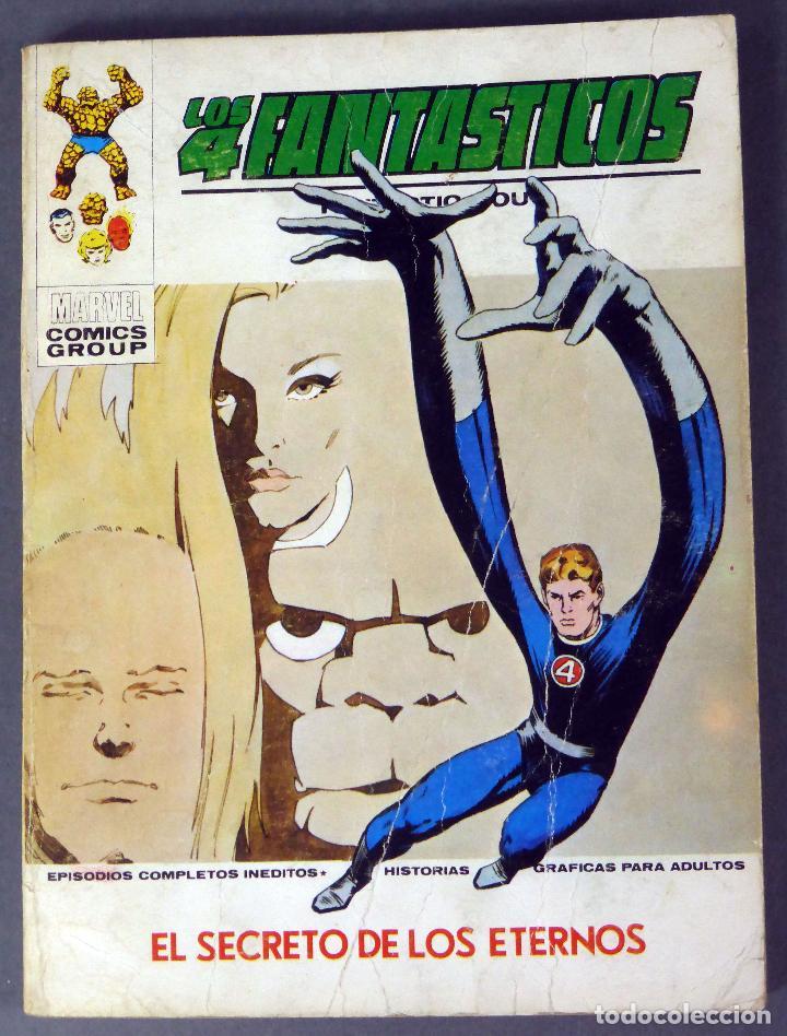 MARVEL COMICS LOS 4 FANTÁSTICOS Nº 57 EL SECRETO DE LOS ETERNOS EDICIONES VÉRTICE 1973 (Tebeos y Comics - Vértice - 4 Fantásticos)