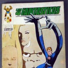 Cómics: MARVEL COMICS LOS 4 FANTÁSTICOS Nº 57 EL SECRETO DE LOS ETERNOS EDICIONES VÉRTICE 1973. Lote 84840156
