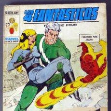 Cómics: MARVEL COMICS LOS 4 FANTÁSTICOS Nº 65 UN NOVIAZGO ROTO EDICIONES VÉRTICE 1974. Lote 84841076