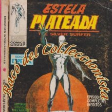 Cómics: ESTELA PLATEADA (THE SILVER SURFER), V.1 (TACO CARTONCILLO) N. 1 , EL ORIGEN DE ESTELA PLATEADA. Lote 84841808