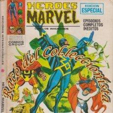 Cómics: HEOES MARVEL, V.1 (TACO CARTONCILLO) N. 1 , EL ORIGEN DE LOS INHUMANOS. Lote 84842388