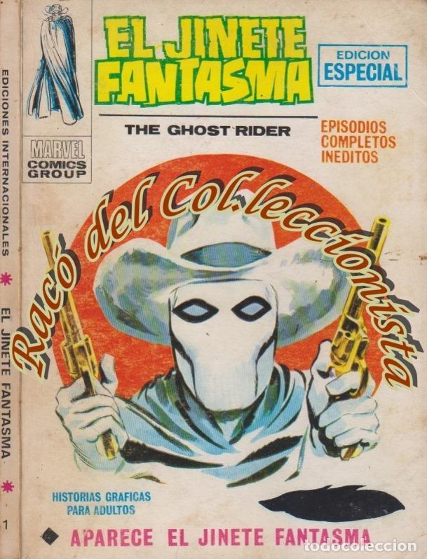 EL JINETE FANTASMA, V.1 (TACO CARTONCILLO) N. 1 , APARECE EL JINETE FANTASMA (Tebeos y Comics - Vértice - V.1)