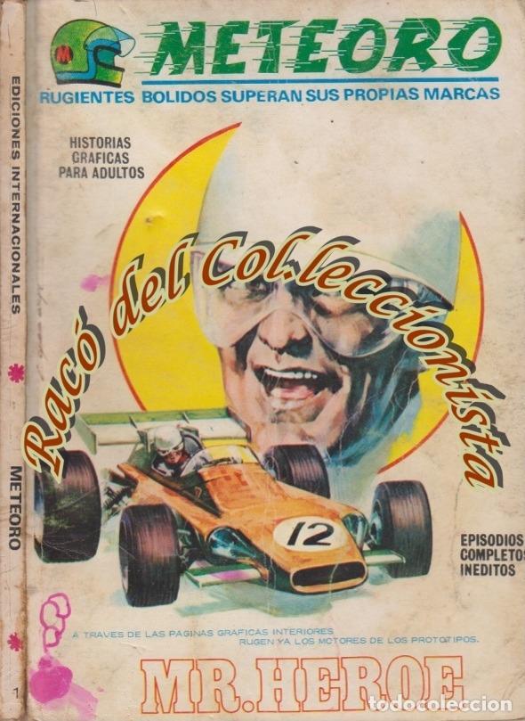 METEORO, VERTICE V.1 (TACO CARTONCILLO), N. 1, MR. HEROE (Tebeos y Comics - Vértice - V.1)