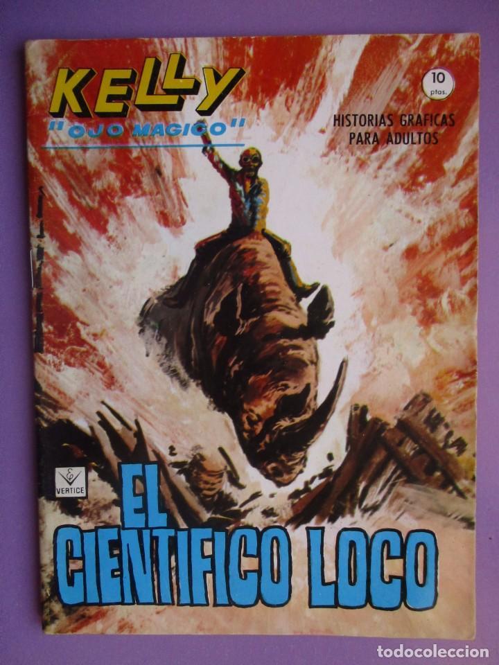 KELLY OJO MAGICO Nº 14 VERTICE GRAPA ¡¡¡EXCELENTE ESTADO !!!! (Tebeos y Comics - Vértice - V.1)
