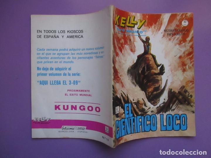 Cómics: KELLY OJO MAGICO Nº 14 VERTICE GRAPA ¡¡¡EXCELENTE ESTADO !!!! - Foto 3 - 85548828