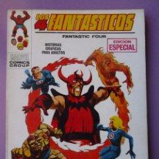 Cómics: LOS 4 FANTASTICOS Nº 16 VOLUMEN 1 ¡¡¡ MUY BUEN ESTADO!!!!. Lote 85558160