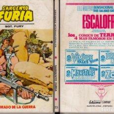 Cómics: VERTICE SARGENTO FURIA 23. Lote 85780244