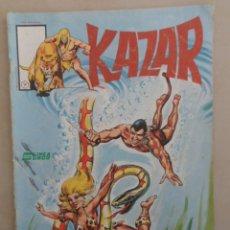 Cómics: KAZAR Nº 7 - POSIBLE ENVÍO GRATIS - LÍNEA SURCO VERTICE - BRUCE JONES & BRENT ANDERSON. Lote 85820668