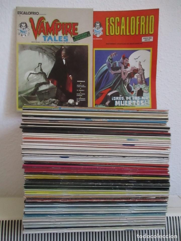 ESCALOFRIO VERTICE ¡¡¡¡EXCELENTE ESTADO¡¡¡¡¡¡¡¡ COLECCION COMPLETA 67 Nº, ENVIO GRATIS, (Tebeos y Comics - Vértice - V.1)