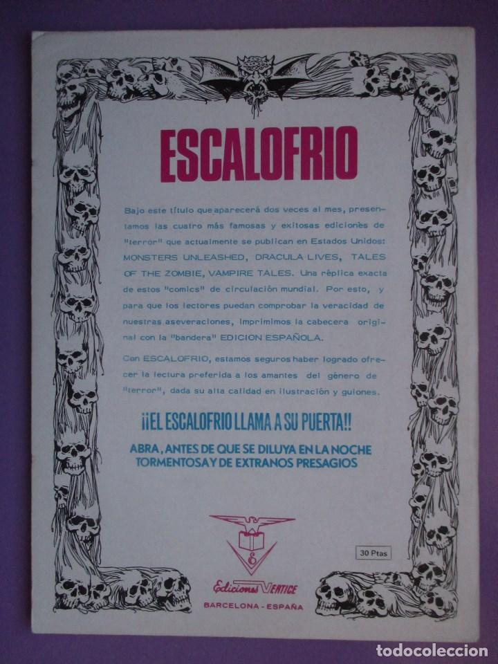 Cómics: ESCALOFRIO VERTICE ¡¡¡¡EXCELENTE ESTADO¡¡¡¡¡¡¡¡ COLECCION COMPLETA 67 Nº, ENVIO GRATIS, - Foto 8 - 85943740