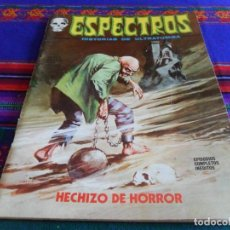 Cómics: VÉRTICE VOL. 1 ESPECTROS Nº 10. 25 PTS. 1973. HECHIZO DE HORROR. REGALO 11 CON DRÁCULA.. Lote 40081416