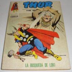Cómics: MARVEL COMICS THOR Nº 35 LA BÚSQUEDA DE LOKI EDICIONES VÉRTICE 1973. Lote 86045792