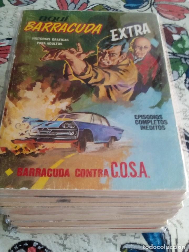 AQUI BARRACUDA N 1 AL 16 COMPLETA LEER DESCRIPCCION (Tebeos y Comics - Vértice - Fleetway)