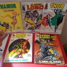 Cómics: LOTE COMIC VERTICE MARVEL COMICS TACO VOL.1 NAMOR 20-EL HOMBRE DE HIERRO IRON MAN 23-THOR 40-LOBO 9. Lote 86875544