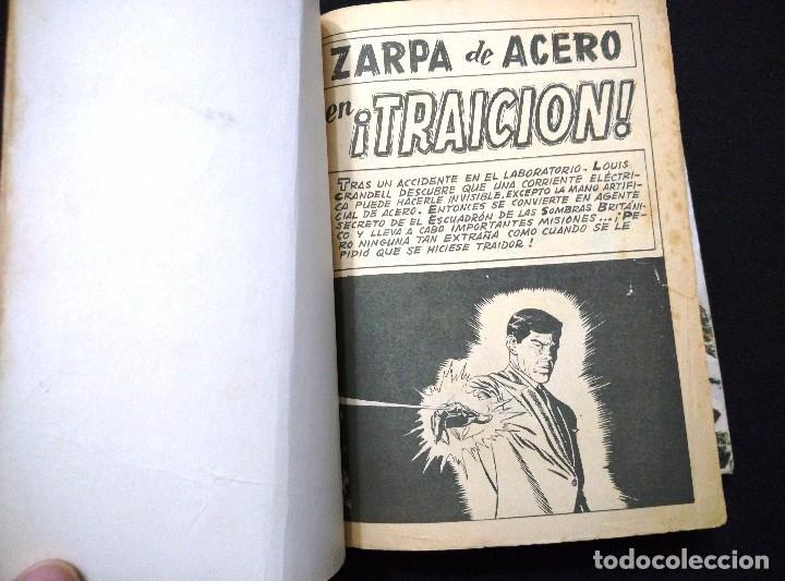 Cómics: ZARPA DE ACERO. Nº 3. VÉRTICE. TACO. 25 PTAS. - Foto 4 - 87386084
