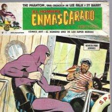 Cómics: EL HOMBRE ENMASCARADO. EDICION EN ESPAÑOL. Nº 34. COMICS-ART. 15 JULIO 1974. Lote 87398376